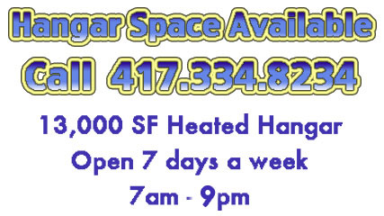 BBG - Hangar Space Available!